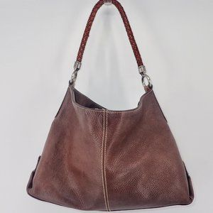 Fossil Leather Purse Shoulder Bag Medium Size
